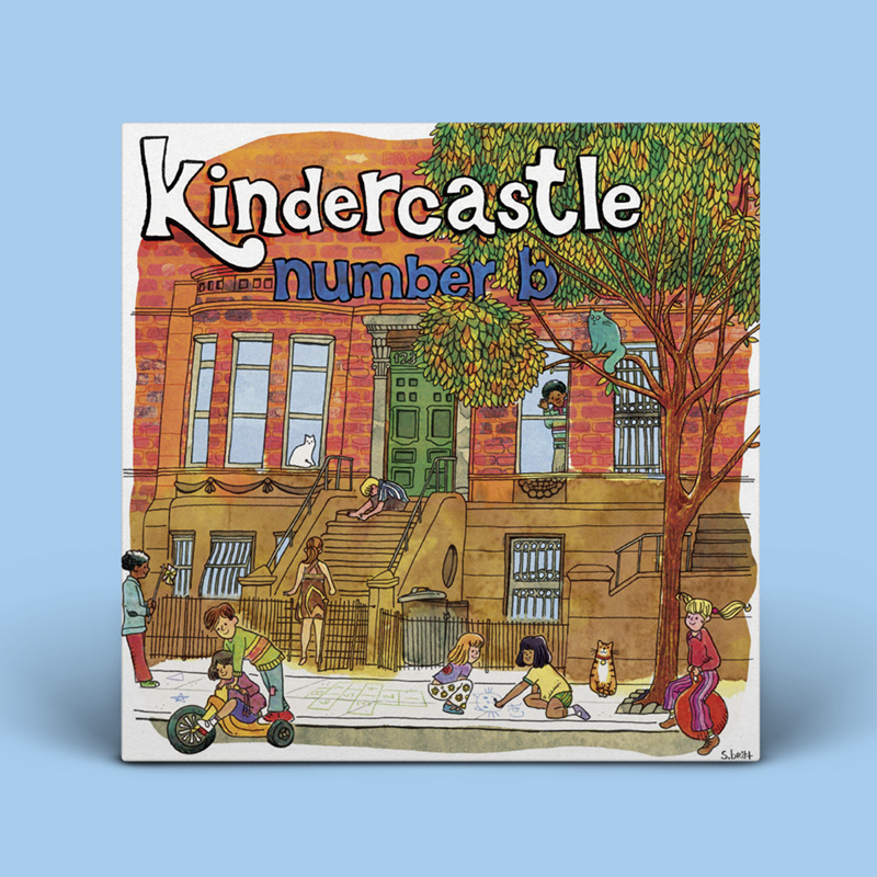 Kindercastle - number B vinyl